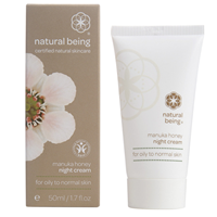 natural being Honey Night Cream - Oily Skin  - 50ml - Best before date is 30th September 2017