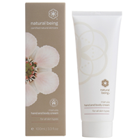 natural being Manuka Hand & Body Cream - 100ml