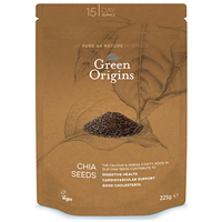 Green Origins Chia Seeds - 225g