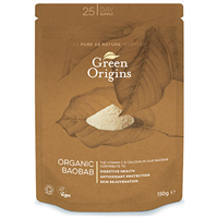 Green Origins Organic Baobab Powder - 150g