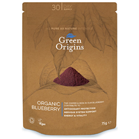 Green Origins Organic Blueberry Powder - 75g