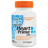 Doctors Best Heart Prime - KD-Pur EPA - 60 Softgels