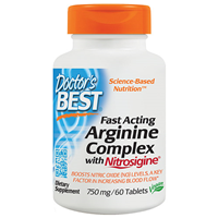 Fast Acting Arginine Complex - 60 x 750mg Tablets
