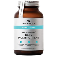 Wild Nutrition Teen Boy Daily Multi Nutrient - 60 Caps