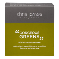 Chris James Mind Body Gorgeous Greens - 20 x 6g Sachets