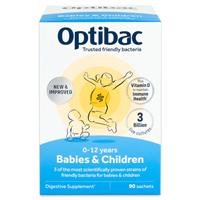 OptiBac Probiotics For Babies and Children - 90 Sachets