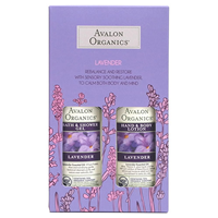 Avalon Lavender Gift Set - Hand, Body Lotion and Shower Gel