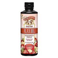Barlean`s Omega Swirl Flax Oil Strawberry Banana - 227g