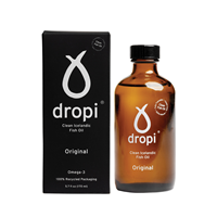 Dropi Pure Icelandic Extra Virgin Cod Liver Oil - 220ml
