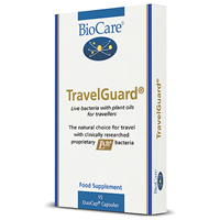 TravelGuard - Gastrointestinal Support -15 DuoCaps