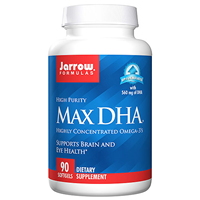 Jarrow Formulas High Purity Max DHA - 90 Softgels