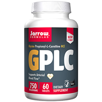 Jarrow Formulas GPLC GlycoCarn - 60 Tablets - Best before date is 30th September 2017