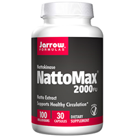 Jarrow Formulas NATTOMAX - 30 x 100mg Capsules - Best before date is 30th April 2017