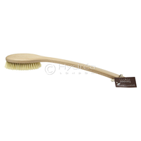 Stylish Sauna Brush with Natural Bristle