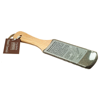 Natural Pumice Curved Wooden Foot File