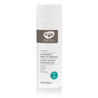 Green People Sensitive Scent-Free Cleanser & Make-Up Remover - 150ml