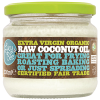 Lucy Bee Extra Virgin Organic Raw Coconut Oil - 300ml