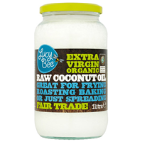 Lucy Bee Extra Virgin Organic Raw Coconut Oil - 1 Litre