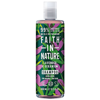 Faith in Nature Lavender & Geranium Nourishing Shampoo for Normal to Dry Hair – 400ml