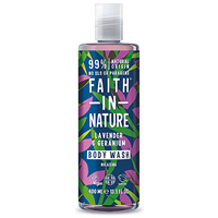 Lavender & Geranium Shower Gel & Foam Bath - 400ml