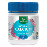 Lifestream Organic Natural Calcium - 100g Powder
