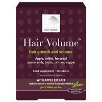 New Nordic Hair Volume - 90 Tablets - Best before date is 31st August 2017