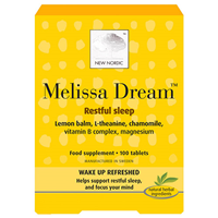 New Nordic Melissa Dream - 100 Tablets