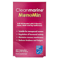 Cleanmarine MenoMin for Women - 60 x 600mg Capsules