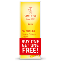 Weleda Calendula Baby & Child Nappy Change Cream - 2 x 75ml