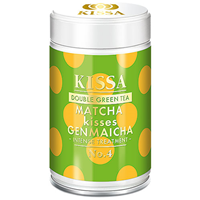 KISSA Double Green Tea - Matcha kisses Genmaicha - 80g