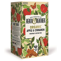 Heath & Heather Organic Apple & Cinnamon - 20 Bags