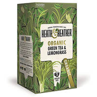 Heath & Heather Green Tea & Lemongrass - 20 Bags