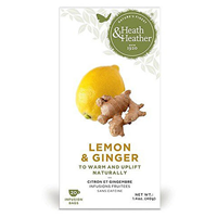 Heath & Heather Lemon & Ginger - 20 Bags