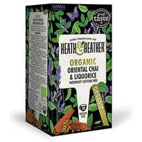 Heath & Heather Organic Chai & Liquorice - 20 Bags