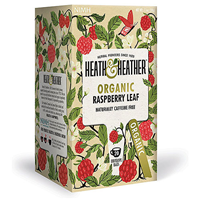 Heath & Heather Organic Raspberry Leaf - 20 Bags