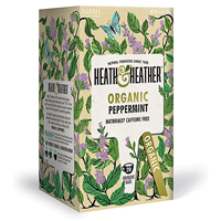Heath & Heather Organic Peppermint - 20 Bags