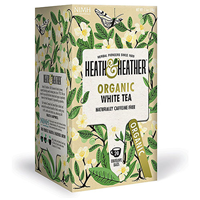 Heath & Heather Organic White Tea - 20 Bags