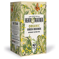 Heath & Heather Organic Green Rooibos - 20 Bags