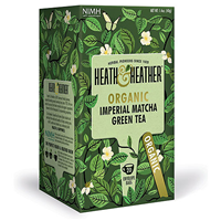 Heath & Heather Organic Imperial Matcha & Green Tea
