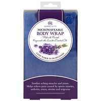 Aroma Home Soothing Lavender-Fragrance Body Wrap - Blue