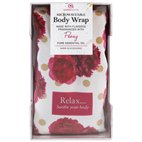 Aroma Home Floral Body Wrap - Peony