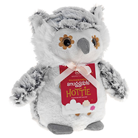 Aroma Home Snuggable Hottie - Snow Owl