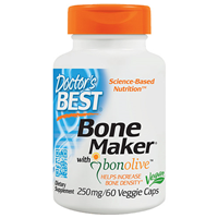 Bone Maker with Bonolive - 60 x 250mg Vegicaps - Best before date is 31st October 2018