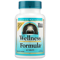 Source Naturals Wellness Formula - 45 Tablets