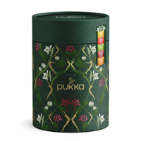 Pukka Teas Purple Winter Tea Caddy