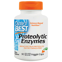 Best Proteolytic Enzymes - 90 Vegicaps