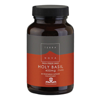 TERRANOVA Holy Basil 400mg - 50 Vegicaps
