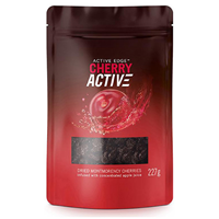 Active Edge CherryActive Dried Montmorency Cherries - 227g - Best before date is 30th December 2018