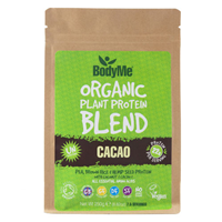 BodyMe Organic Protein Powder Blend - Raw Cacao - 250g