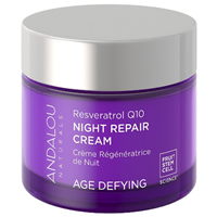 Andalou Resveratrol Q10 Night Repair Cream - 50ml